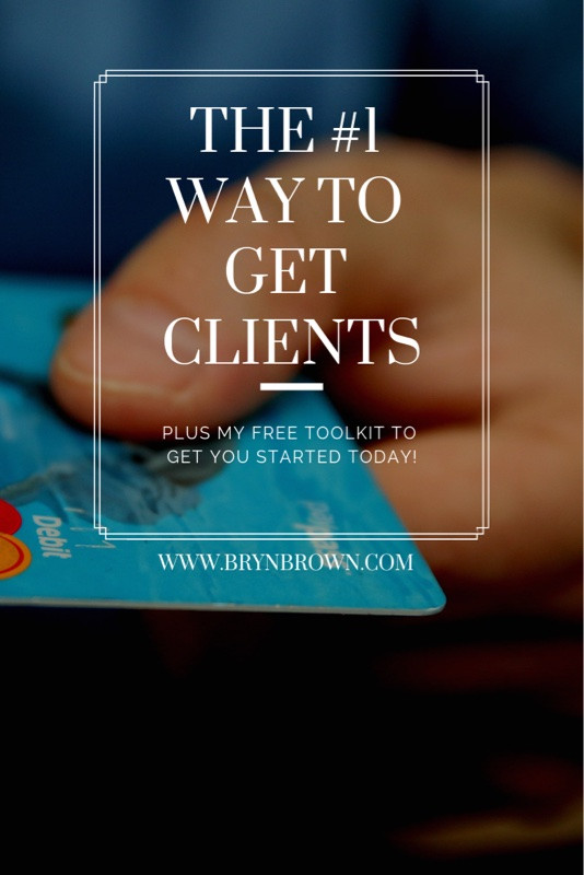 Get my BEST tip for getting clients, plus a toolkit to help you get started!