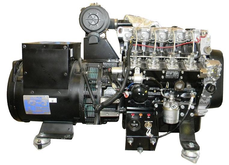 ISUZU 21 kW Marine Diesel Generator (Keel Cooled)