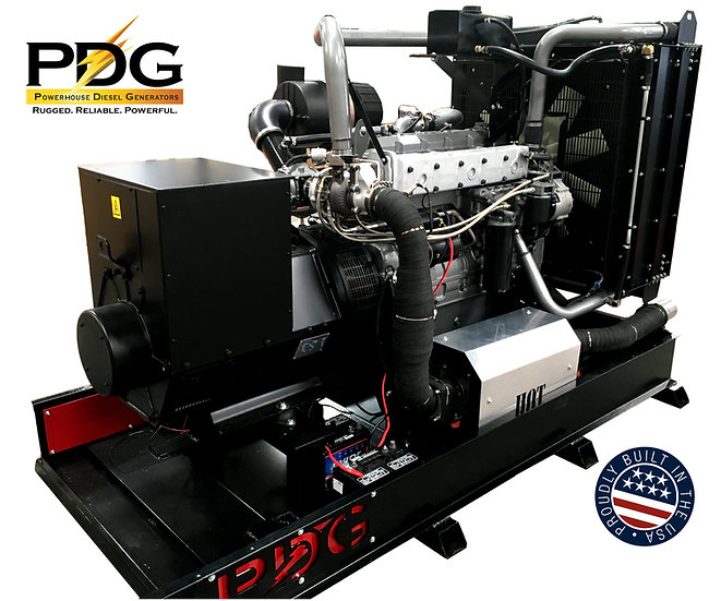 PSI 125 kW Natural Gas Generator
