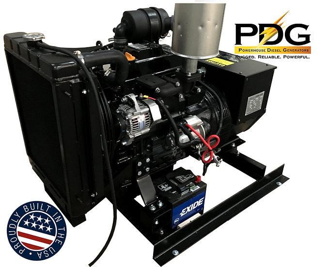 Isuzu 12.5 kW Diesel Generator Tier 4