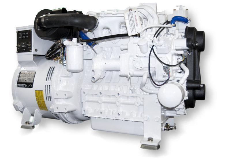 Kubota 17.5 kW V2003-E3BG Marine Diesel Generator (Heat Exchange)