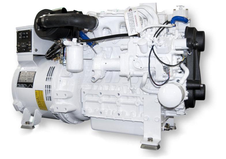 Kubota 21 kW V2403-E3BG Marine Diesel Generator (Heat Exchange)