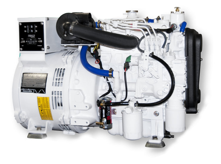 Kubota 9.5 kW D1105-E3BG Marine Diesel Generator (Heat Exchange)