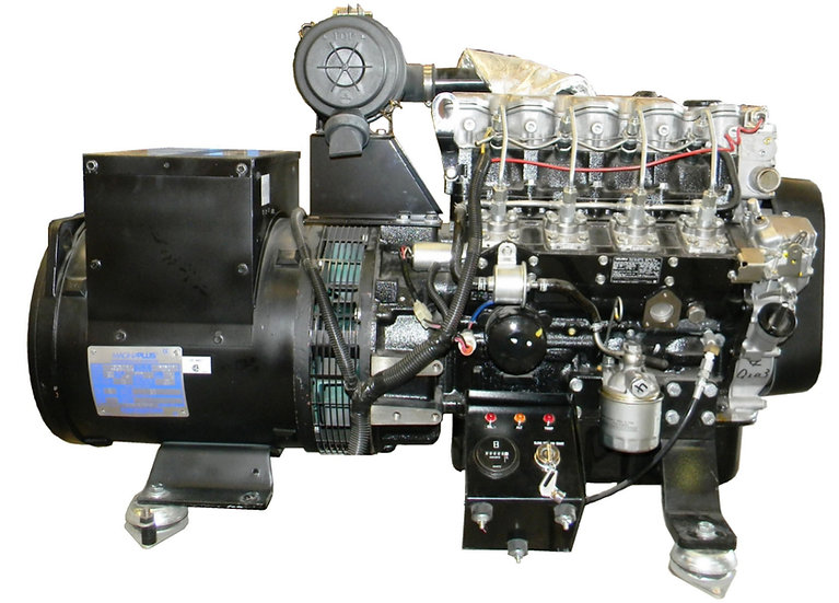ISUZU 16 kW Marine Diesel Generator (Keel Cooled)