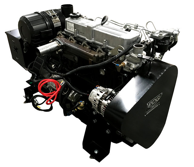 Mitsubishi 40 kW Marine Diesel Generator (Keel Cooled)