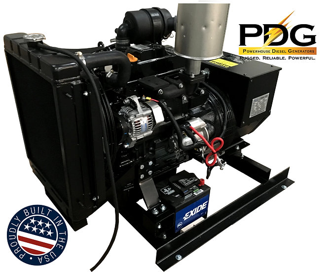 Isuzu 8.5 kW Diesel Generator Tier 4