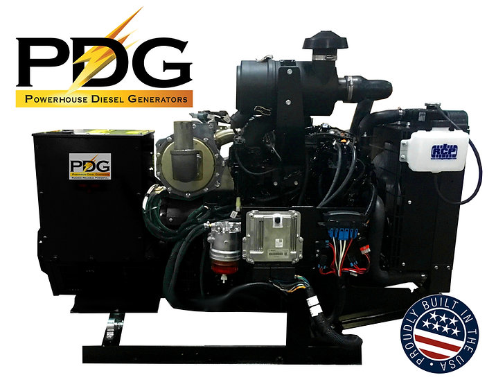 Yanmar 45 kW Diesel Generator Tier 4 Final