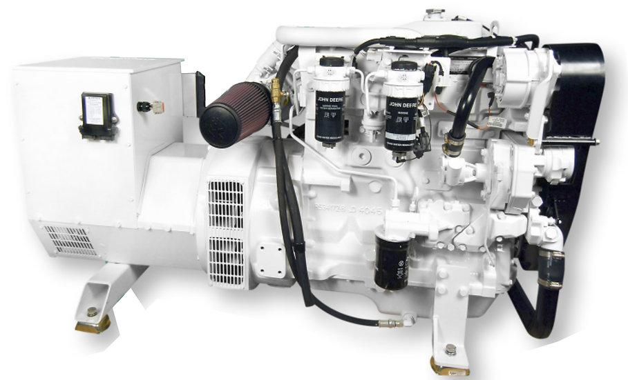 John Deere 65 kWMarine Diesel Generator (Heat Exchange)