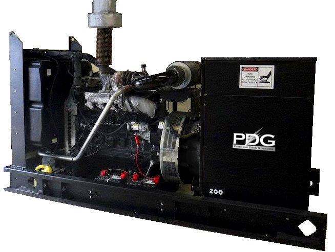 John Deere 225 kW Turbo  Diesel Generator