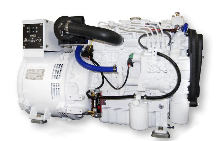 Kubota 12.5 kW V1505-E3BG Marine Diesel Generator (Heat Exchange)