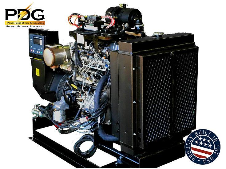 Isuzu 40 kW Diesel Generator Tier 4