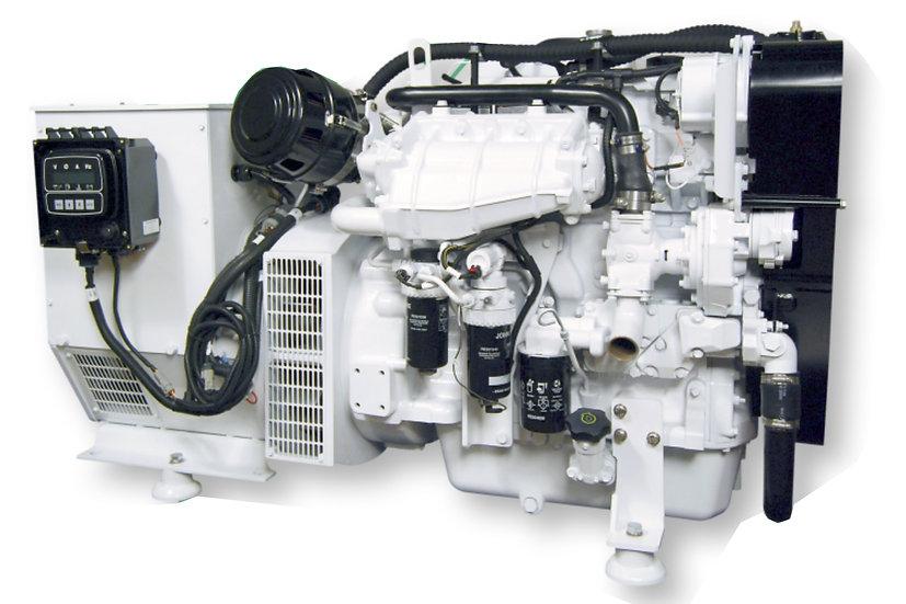 John Deere 100 kW Marine Diesel Generator (Heat Exchange)
