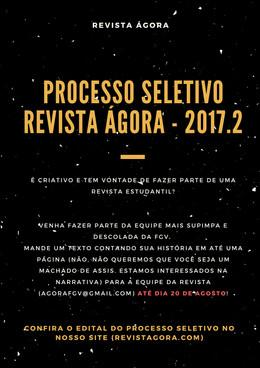 Processo Seletivo - 2017.2