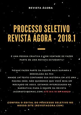 Processo seletivo 2018.1