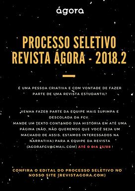 Processo Seletivo 2018.2
