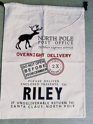 Santa Sack- North Pole Post Office