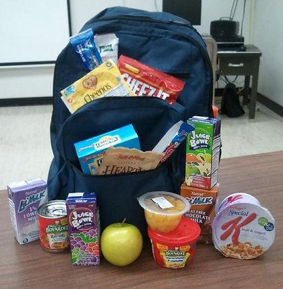 Weekend Food Backpack 1 year
