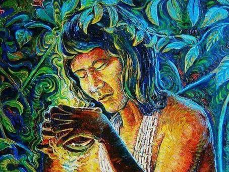 o que é visualizado ao tomar Ayahuasca?
