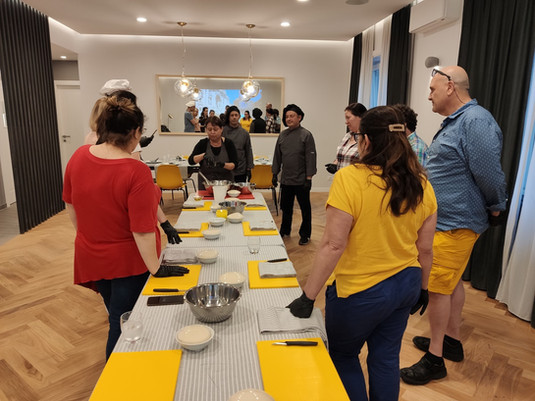 Cooking class Roma
