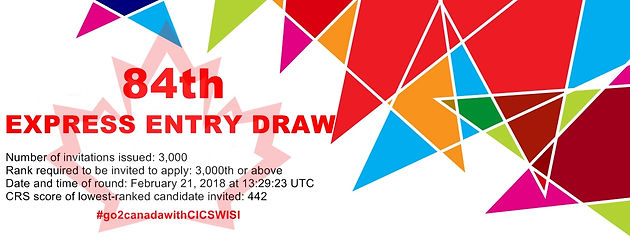 84th Express Entry Draw