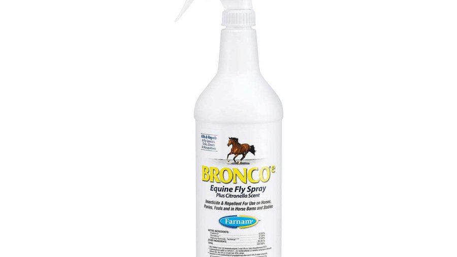Bronco Fly Spray Plus Citronella Scent