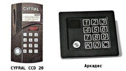 Домофоны Цифрал CCD-20 и Аркадес