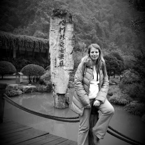 přírodní park v Číně