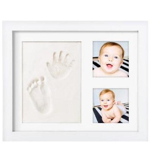 Premium Baby Handprint Kit by Laura Baby! Non Toxic CLAY! Baby Footprint Kit
