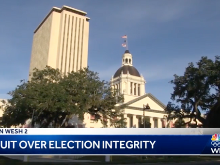 Lawsuit filed over election integrity in Florida
