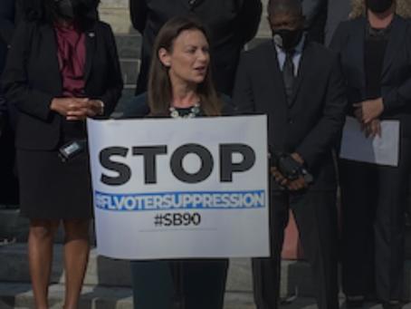 Nikki Fried, Black pastors call voter bills racist, voter suppression