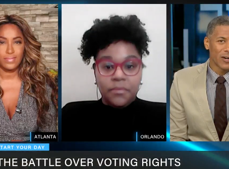 Kristin Fulwylie Thomas, joins #StartYourDay to discuss the battle over voting rights