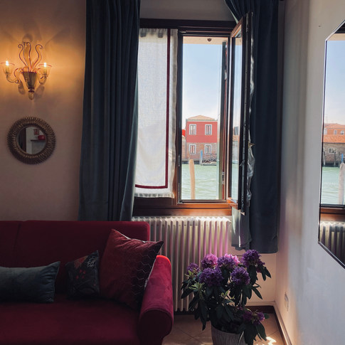 Holiday apartment with canal view, Venice - Italy.
