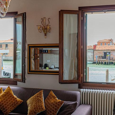 SQUERO Apartment rental - Murano island, Venice.