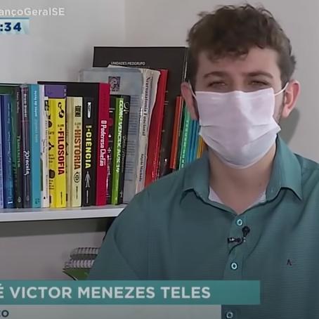 Sergipano, médico mais novo do Brasil fala sobre desafios profissionais - Balanço Geral Sergipe