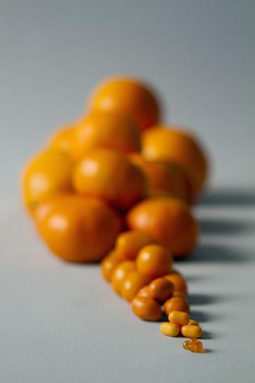 boules oranges