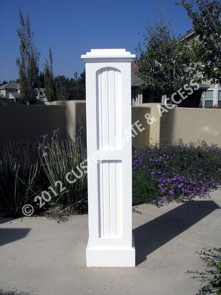 Wooden Bead Board Column
