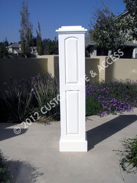 Wooden Raised Panel Column