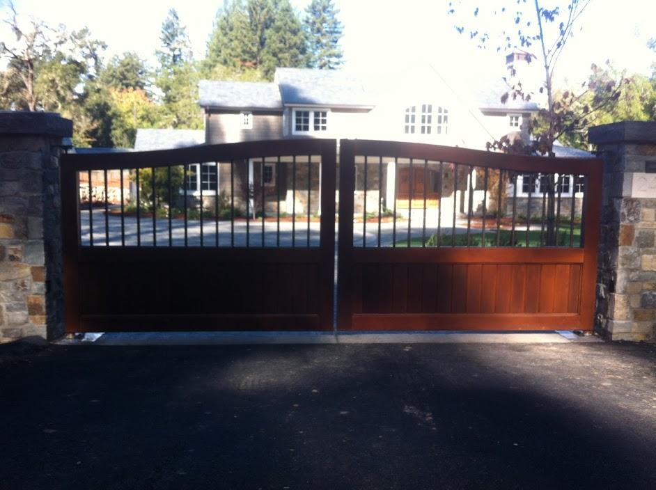 Driveway Gate 166