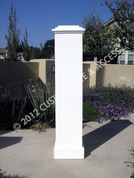 Basic Wooden Column