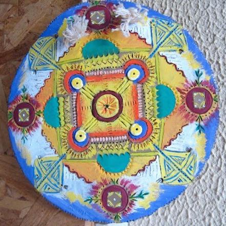 Mandala de barro