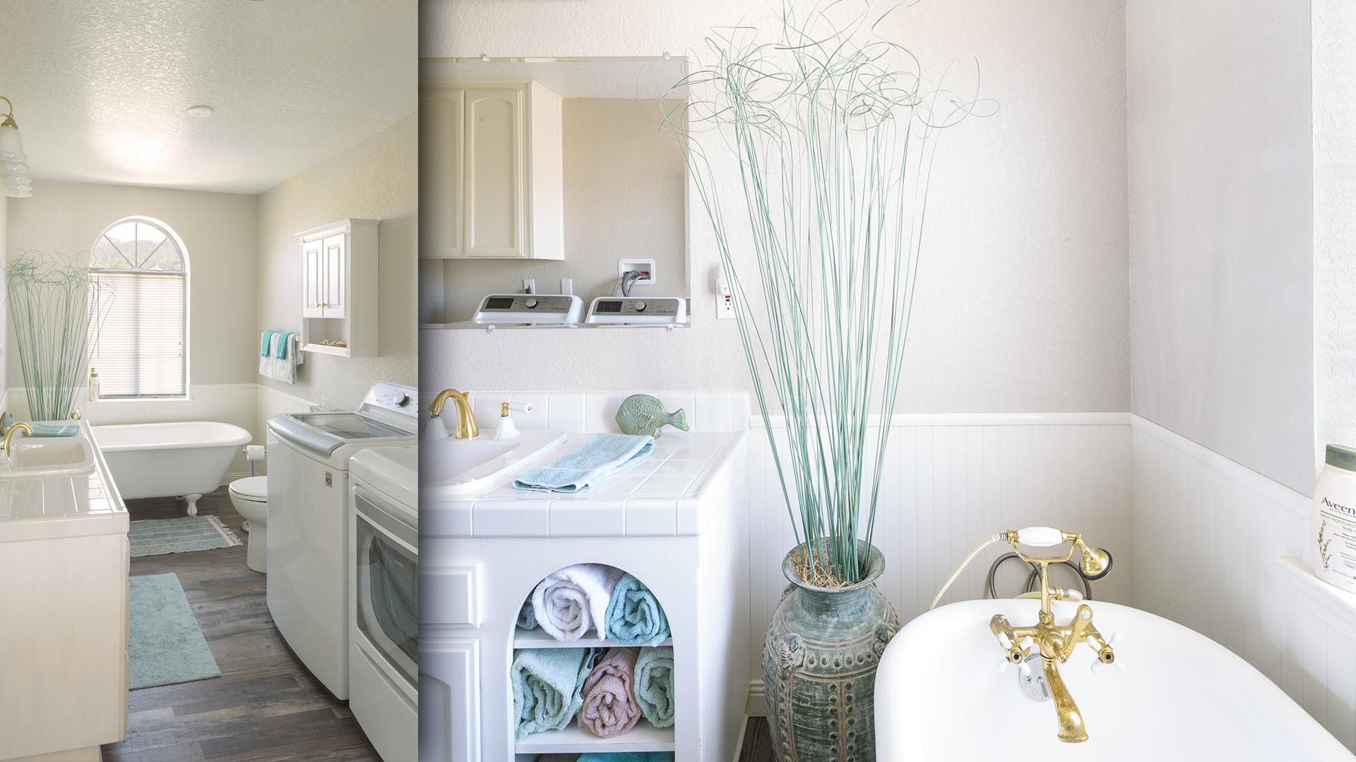 Upstairs Bath/Laundry
