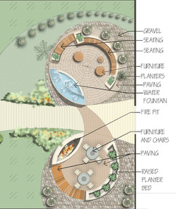 Apartment  Landscaping Site Plan