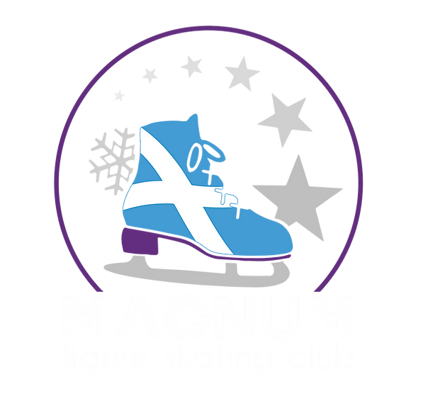magnum figure skating club logo