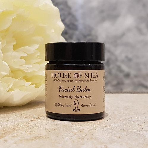 House Of Shea Intensely Nurturing Organic Face Balm (Uplifting Aroma Blend)