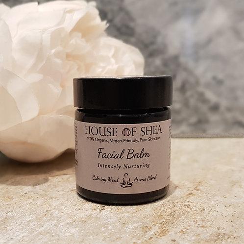 House Of Shea Intensely Nurturing Organic Facial Balm (Calming Aroma Blend)