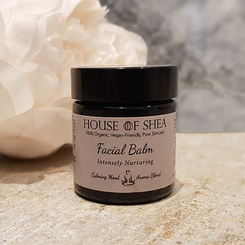 House Of Shea Intensely Nurturing Organic Facial Balm (Calming Aroma Blend)
