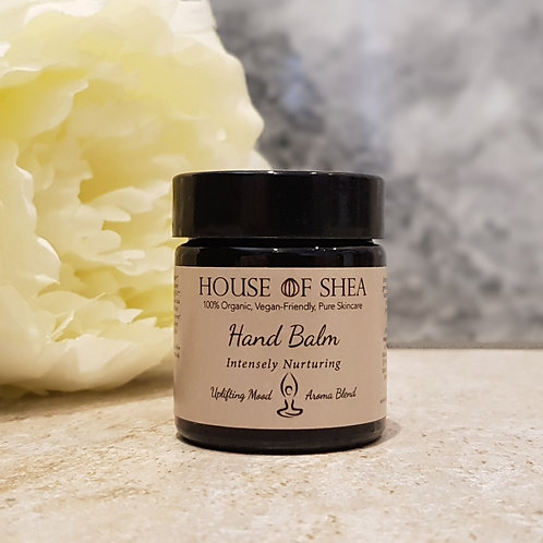 House Of Shea Intensely Nurturing Organic Hand Balm (Uplifting Aroma Blend)