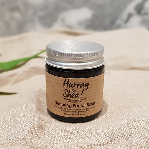 Hurray For Shea! Intensely Nurturing Organic Facial Balm (Fragrance-Free)
