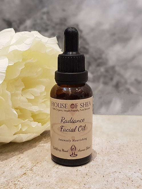 House Of Shea Radiance Organic Facial Oil (Uplifting Aroma Blend)