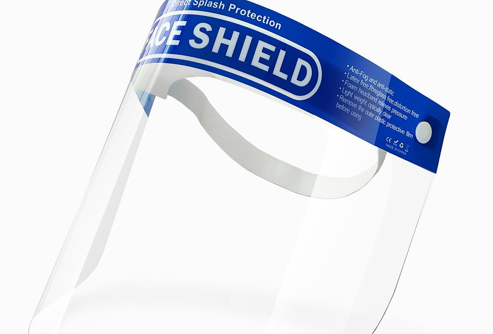 Face shield, Head band, Protection from Splash